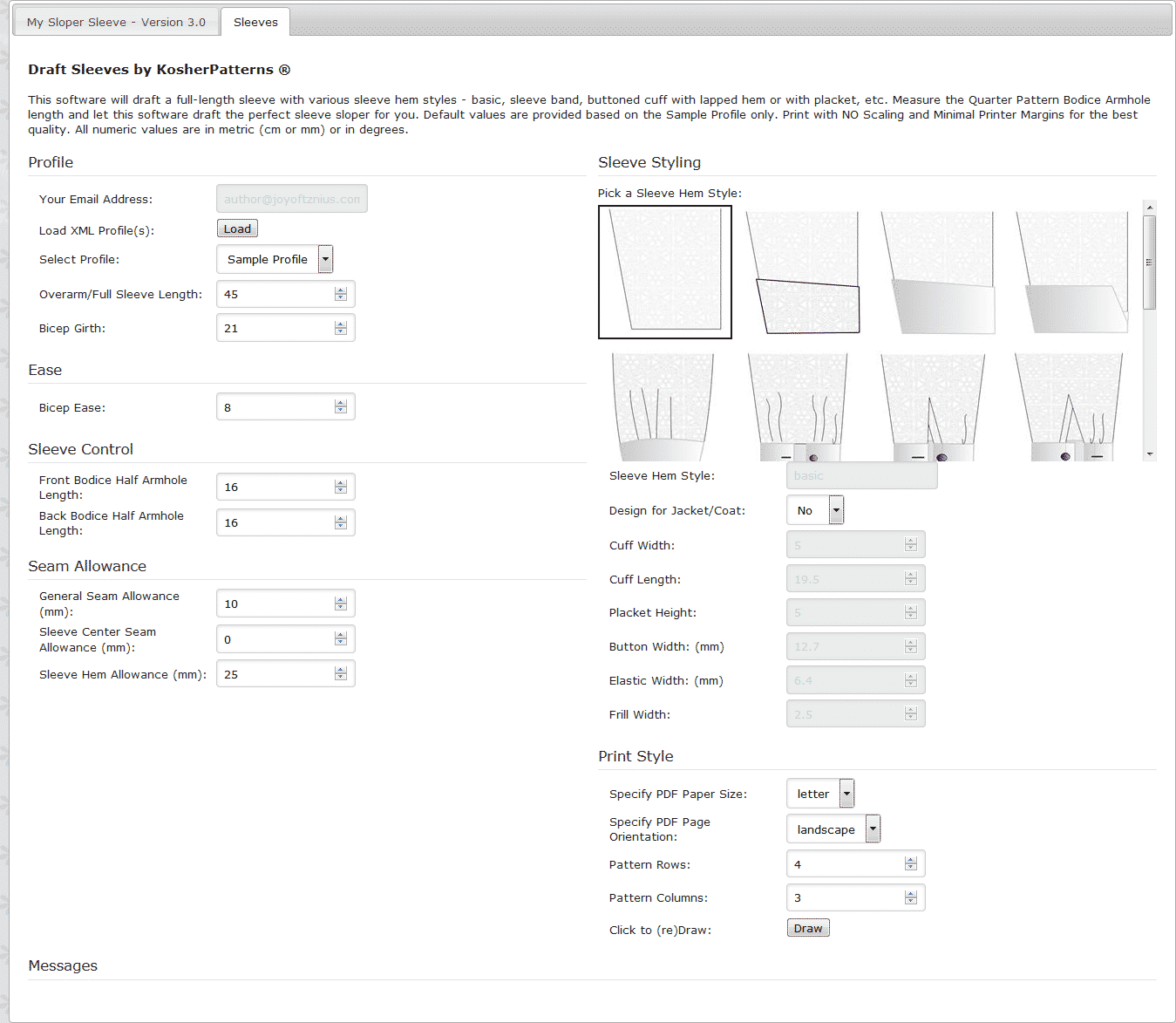 My Sloper Sleeve 3.0