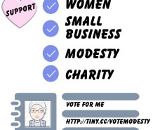 vote modesty