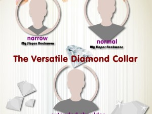 The Versatile Diamond Collar